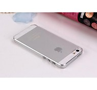 Soft Transparent Back Cover Case for iPhone 5/5S (White)
