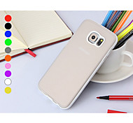 Teléfono Móvil Samsung - Cobertor Posterior - Color Sólido - para Samsung Samsung Galaxy S6 (