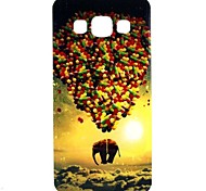Elephant Balloon Pattern TPU Soft Case for Samsung Galaxy A3/A3000