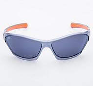 100% de las gafas de sol deportivas de plástico envoltura UV400