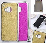 Kemile 2015 New Luxury Bling Glitter Chrome Cae Cover for HTC One M9(Aorted Color)