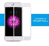 100% ige Abdeckung, Kante an Kante Schutz, Pro + Premium Hartglas Displayschutzfolie für iphone6 Plus 5.5inch weiß