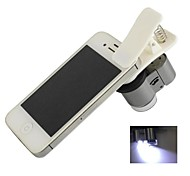Universal Clip-on 65X Microscope for Iphone / Ipad / Samsung / HTC / Sony (3 x LR1130)