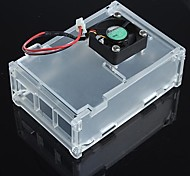 Enclosure Case Box and Of The Fan for Raspberry Pi