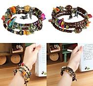 Bracelet Bracelets Vintage / Bracelets de rive / Bracelets de tennis / Bracelets d'identification / Bracelets d'amitié / Bracelets Wrap