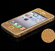 Full-length Bling Glitter Body Sticker for iPhone 5C(Assorted Colors)