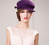 Women's/Flower Girl's Wool Headpiece - Casual/Office & Career/Outdoor Hats