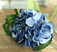 Two Large Blue Hyfrangeas Artifical Flowers