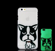 iphone 6 Plus kompatibel Neuheit / Grafik / glow in the dark Rückseite
