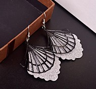 2015 Fashion Scallop In Shell Shaped Lady Frosted Earrings