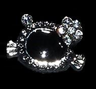 10PCS Lovely Unique Design Diamond 3D Alloy Nail Art Decoration(Assorted Color)