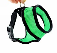 Fashion Nylon Mesh Dog Harnesses for Pet Dogs