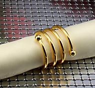 6шт рогатки железа салфетки кольца