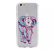 Elephant Pattern Soft TPU Case for iPhone 6