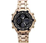 Relógio Elegante (LED) - Analógico-Digital - Quartz