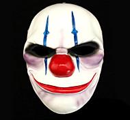 payday duas cadeias máscara de resina para a festa de dia das bruxas (1 pc)