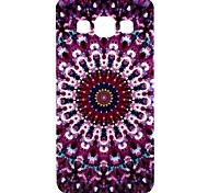Flower Pattern TPU Soft Case for Samsung Galaxy A3/A3000