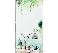 Fashion Cartoon Painted Spring PC Back Cover for Sony Xperia Z3