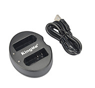 Kingma Dual USB Charger for Nikon EN-EL14 Battery and Nikon P7000, P7100, P7700, P7800, D3100, D3300, D5100, D5300, Df