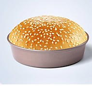 Bakeware High Quality Carbon Steel Hamburger Bread Cake Baking Molds