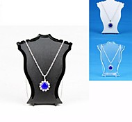 Resin Jewelry Displays(Black,White,Transparent)(1pC)