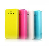 6000mAh Multi-Output Li-polymer Battery Power Bank for iPhone6/6 Plus/Samsung Note4/Sony/HTC and other Mobile Devices