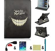 360⁰ Cases ( Cuir PU Design spécial/Nouveauté pour Pomme iPad mini/mini-iPad 2/mini iPad 3