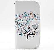 магия spider®butterfly дерево открытое покрытие кожаный чехол бумажник PU стенд с экрана протектор для Samsung Galaxy 9500