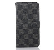 5.1 Inch Luxury Pattern Wallet Leather Case with Pen for Samsung GALAXY S6(Assorted Colors)