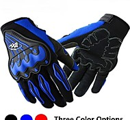 Motorrad-Handschuhe Vollfinger Polyester/Lycra/Netz Wie abgebildet