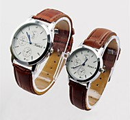 2015 Brand New Lover's Couple's Quartz Analog Casual & Fashion Watch