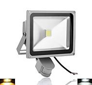 30 - (W) - 1 - LED de alta potencia - 2800-6500 - (LM K) - Blanco cálido/Blanco frío Sensor - Focos - AC 85-265/AC 100-240/AC 110-130 - (V)