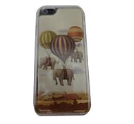 Cute Elephant Balloon Plastic Hard Back Cover for iPhone 6