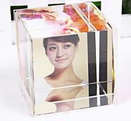 personalizado foto mágica quadro de cristal 3 fotos liwuyou ™