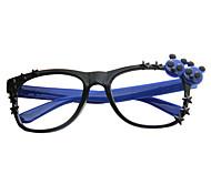 [Frame Only] Panda Decorative Full-Rim Eyeglasses(Random Color)