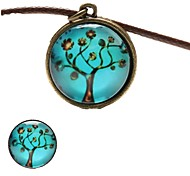 Fashion Peace Tree Shape(Includes Necklace&Brooch)Jewelry Set