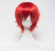Star Driver  Kagayaki no Takuto Takuto Tsunashi Red Short Cosplay Wig