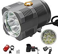 Lampes Torches LED/Lampes frontales/Eclairage de bicyclette/Lumière Avant -Camping/Randonnée/Spéléologie/Usage
