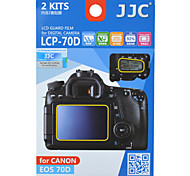 JJC LCP-70D for Canon  70D Camera Dedicated Coating of Splitting Screen Protector Shoulder-screen Coating of Splitting