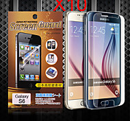 protection hd protection d'écran pour Samsung Galaxy S6 (10 pcs)