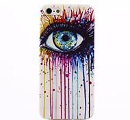 iPhone 5/iPhone 5S - Cover-Rückseite - Spezielles Design ( Mehrfarbig , TPU )