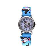 venda quente famosa marca Disney caso de alta qualidade da liga de quartzo crianças dos desenhos animados wacthes dc-54062