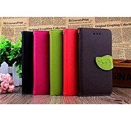 2015 New Arrival Hot Fashion Leather Mobile Phone Case Cover Flip for Iphone 6 Case Wallet 4.7""