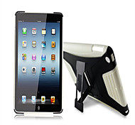 Hot Silica gel PC&Silicone f Case Shockproof Stand Cover for IPad AIR