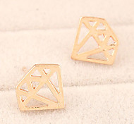 Fashion Personality Diamond Shape Earrings