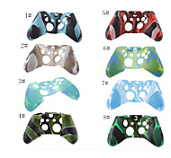 Silicone Rubber Soft Case Skin Cover for Xbox One Controller Grip Handle