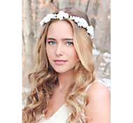 Rose And Pearl Hair Crown, Wedding Headband, Bridal Headpiece, Wedding Headpiece, Wedding Hair Accessories