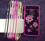 Per Custodia iPhone 5 Transparente Custodia Antiurto Custodia Tinta unita Morbido TPU iPhone SE/5s/5