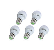 5 pcs Bestlighting E26/E27 3W 10 SMD 2835 200-250 LM Warm White / Cool White G45 LED Globe Bulbs AC 220-240 V