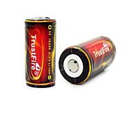 Batteria - Ioni di litio - Trustfire - 18350 - 1200mAh - ( mAh )
